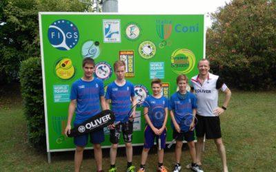 Kids on tour – Squash Italian Junior Open 2019