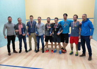 Sieger der Österreichischen Squash-Doppel-Staatsmeisterschaft 2018