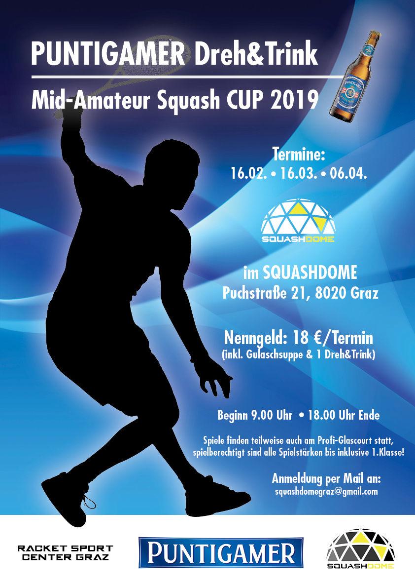 Mid-Amateur Squash Cup Graz 2019