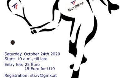 GO Tecnifibre Graz Open 24.10.2020